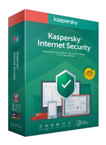 Kaspersky Internet Security 2020 - Box-Pack (1 Jahr)