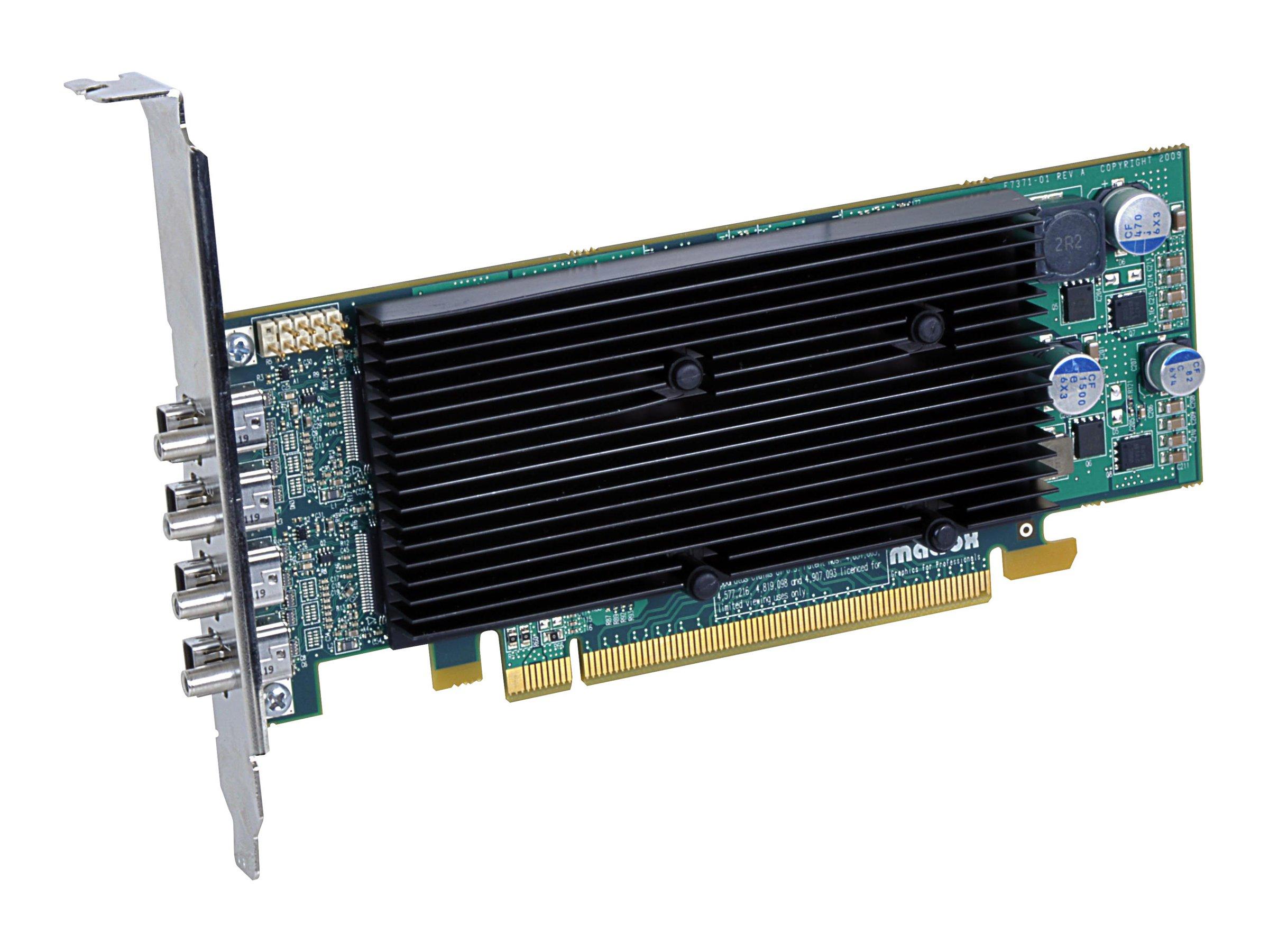 Matrox M9148 - Grafikkarten - M9148 - 1 GB - PCIe x16 Low-Profile