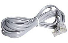 Lindy RJ-10 Kabel Stecker/Stecker - Kabel
