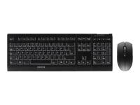 B.UNLIMITED 3.0 Tastatur RF Wireless Deutsch Schwarz