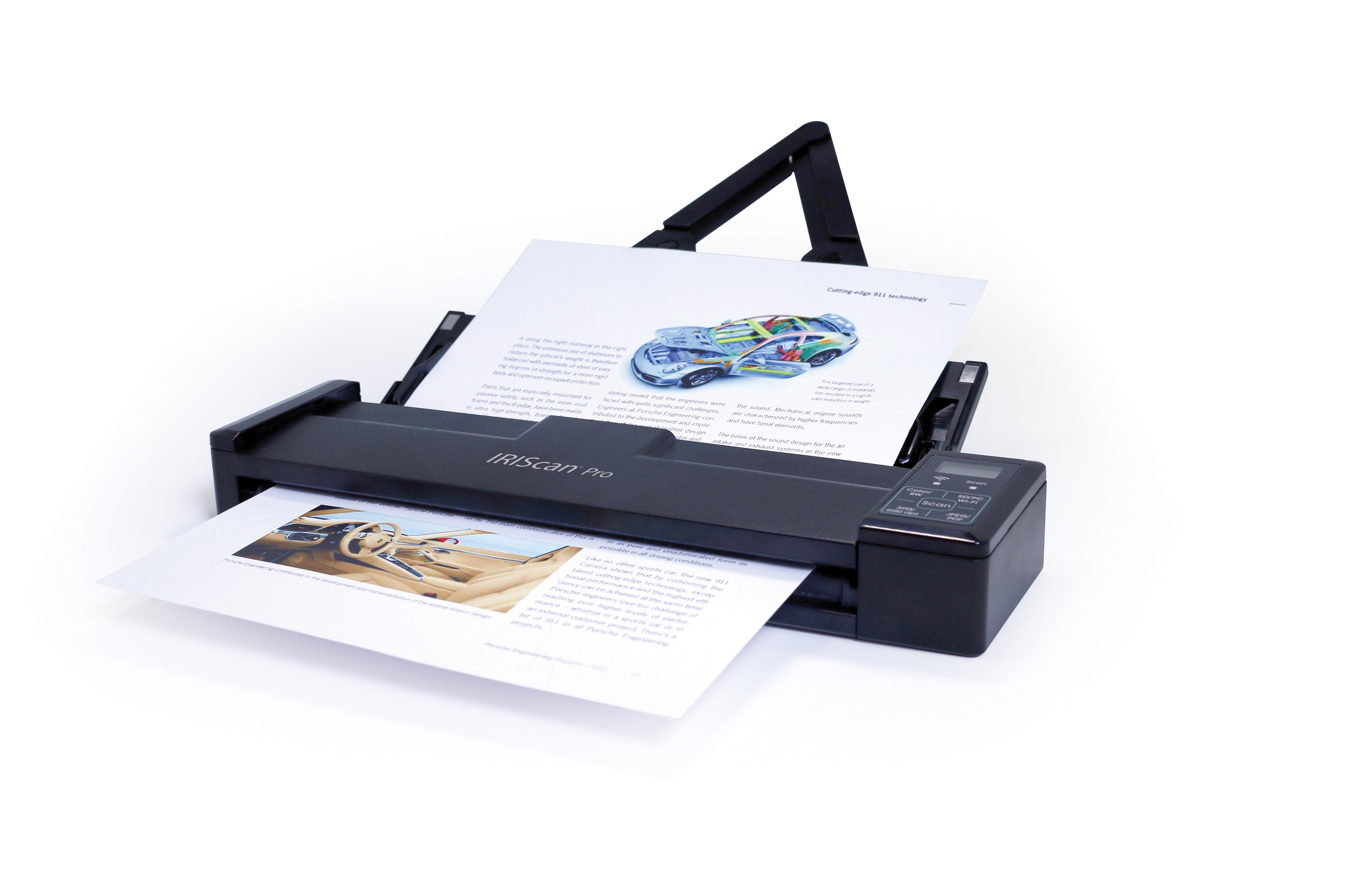IRIS IRIScan Pro 3 Wi-Fi Bogendrucker 600 x 600DPI A4 Schwarz