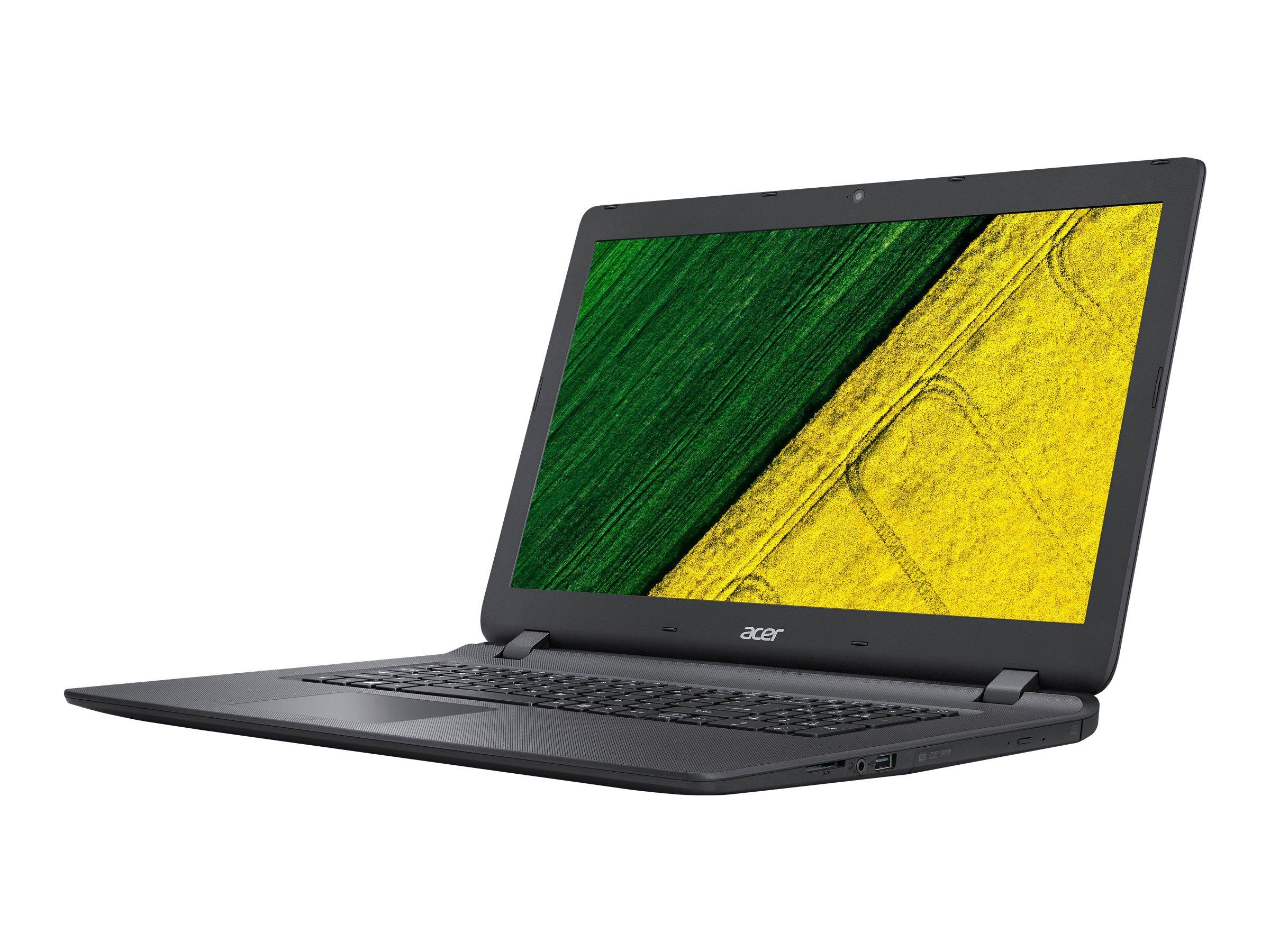 Acer Aspire ES 17 ES1-732-P9EX - Pentium N4200 / 1.1 GHz - Win 10 Home 64-Bit - 8 GB RAM - 256 GB SSD - DVD-Writer - 43.
