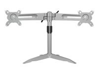 IB-AC638 24Zoll Freistehend Silber Flachbildschirm-Tischhalterung