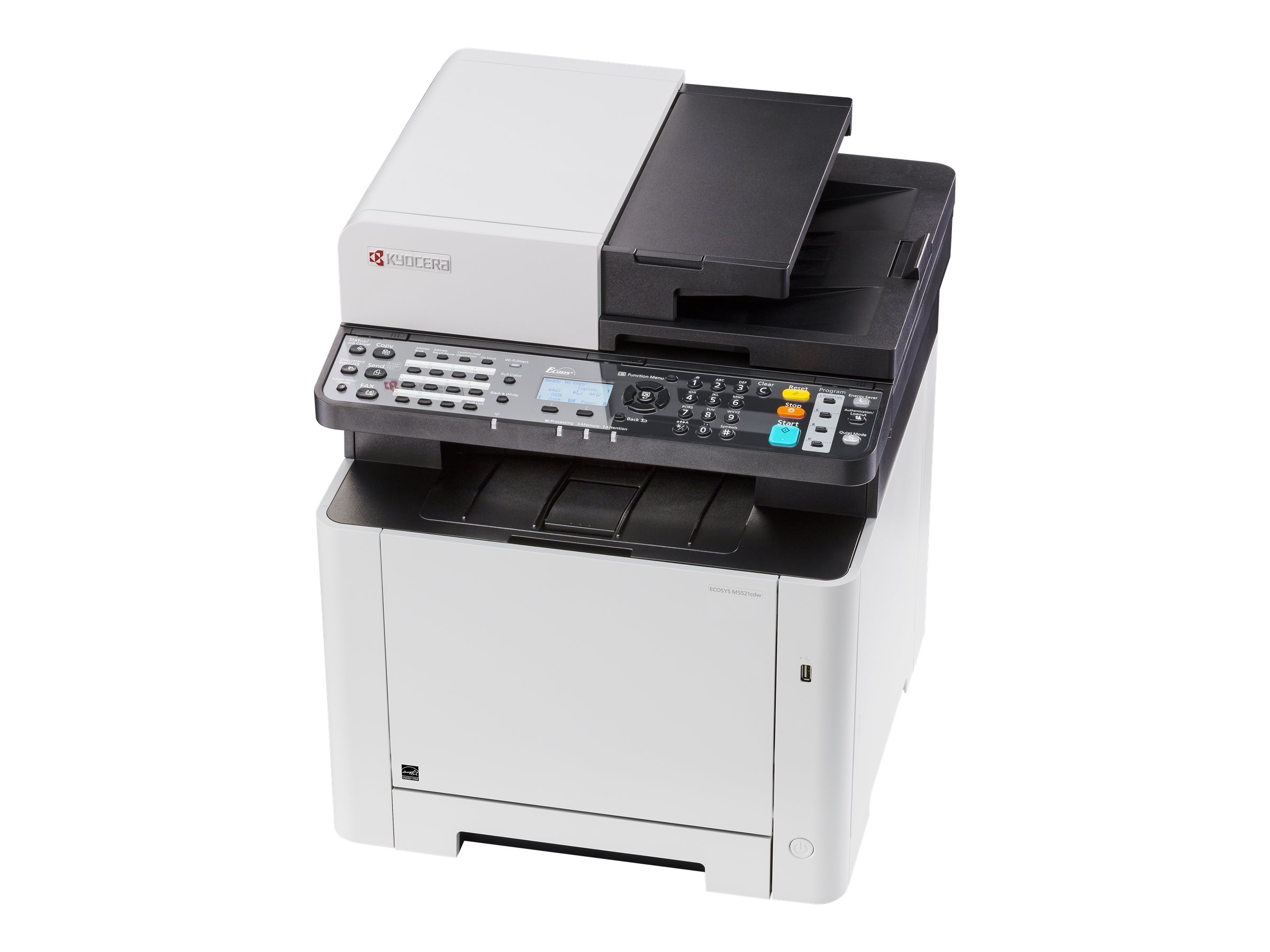 Kyocera ECOSYS M5521cdw - Multifunktionsdrucker - Farbe - Laser - Legal (216 x 356 mm)/