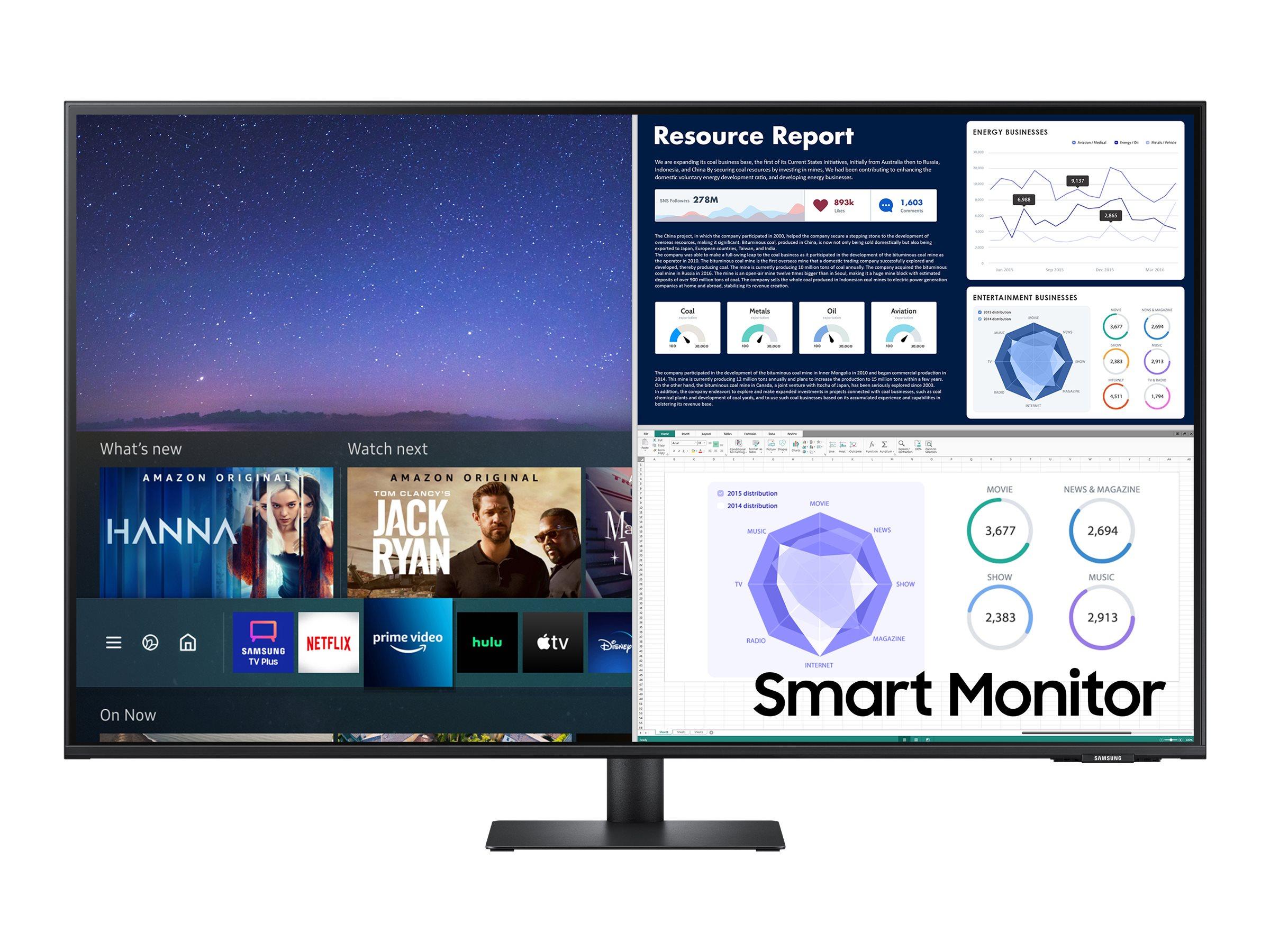 "Vorschau: Samsung S43AM704UU - M70A Series - LED-Monitor - Smart - 108 cm (43"")"