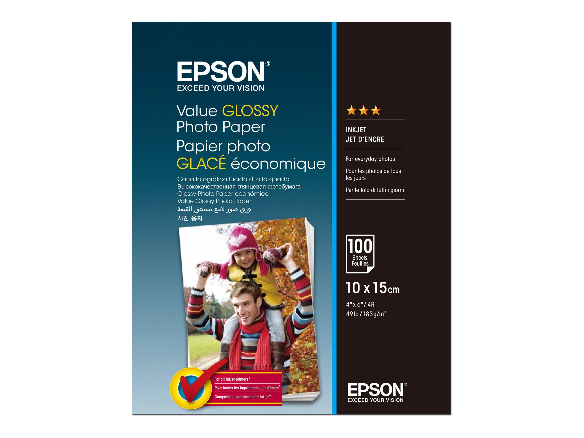 Epson Value - Glänzend - 100 x 150 mm - 183 g/m²