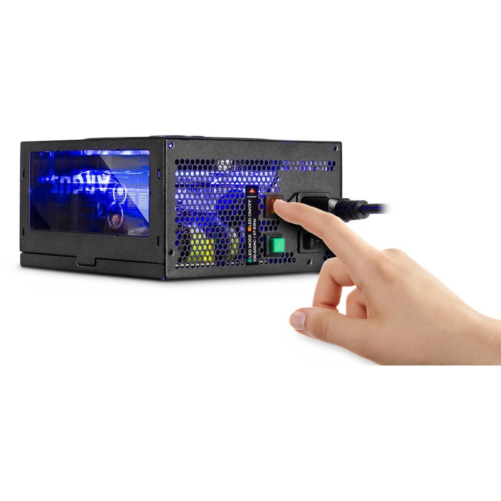 Inter-Tech Argus RGB-650W CM II - Netzteil (intern) - ATX12V 2.3