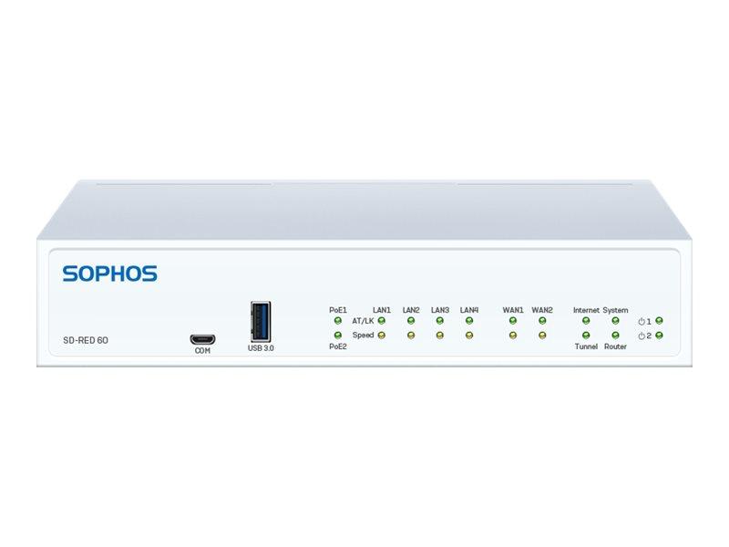 Vorschau: Sophos SD-RED 60 - Rev 1 - Fernsteuerungsgerät