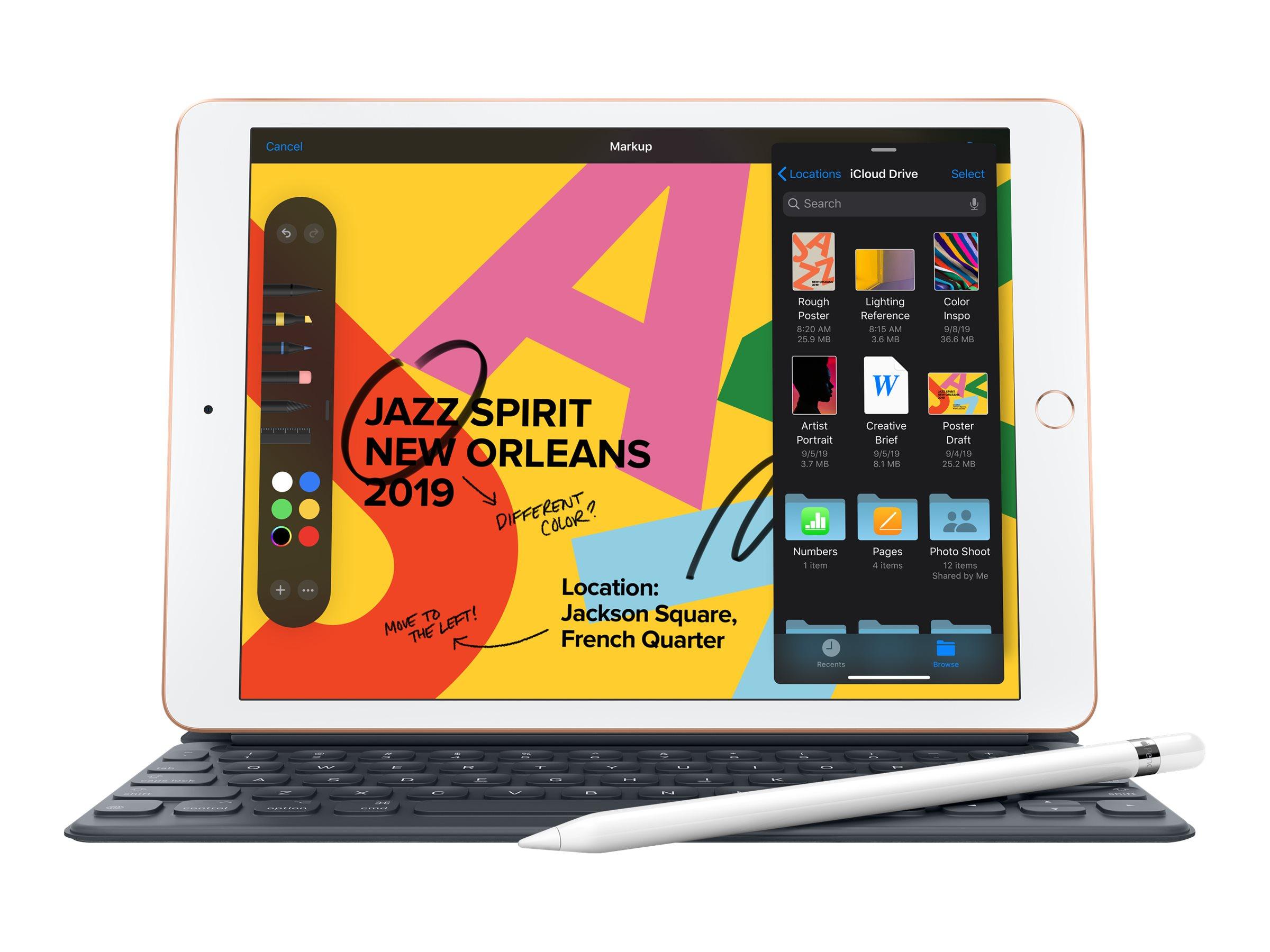 """Apple 10.2-inch iPad Wi-Fi + Cellular - 8. Generation - Tablet - 128 GB - 25.9 cm (10.2"""")"""