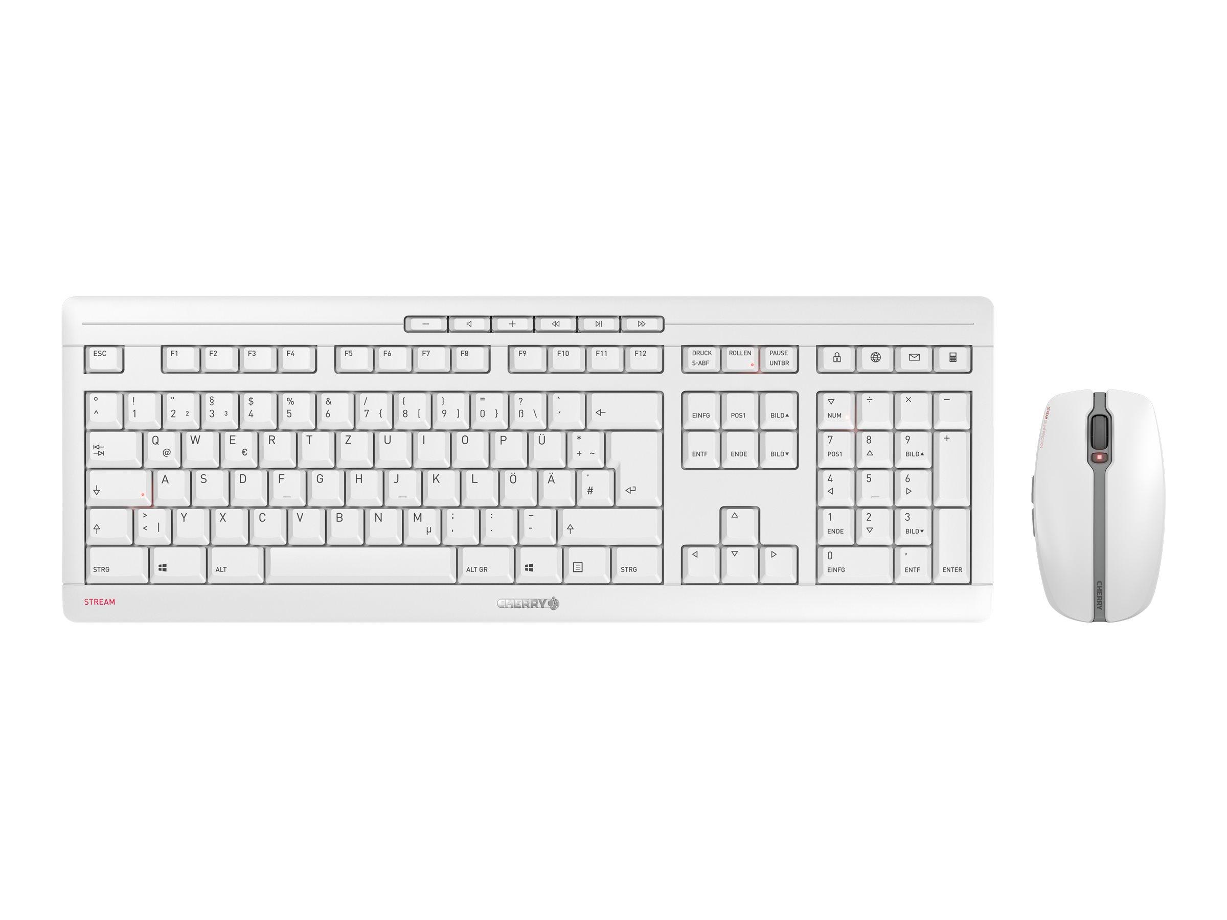 Cherry STREAM DESKTOP RECHARGE - Tastatur-und-Maus-Set