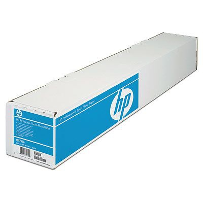 HP Professional Satin 610 mm x 15.2 m (24 in x 50 ft) Satin Fotopapier