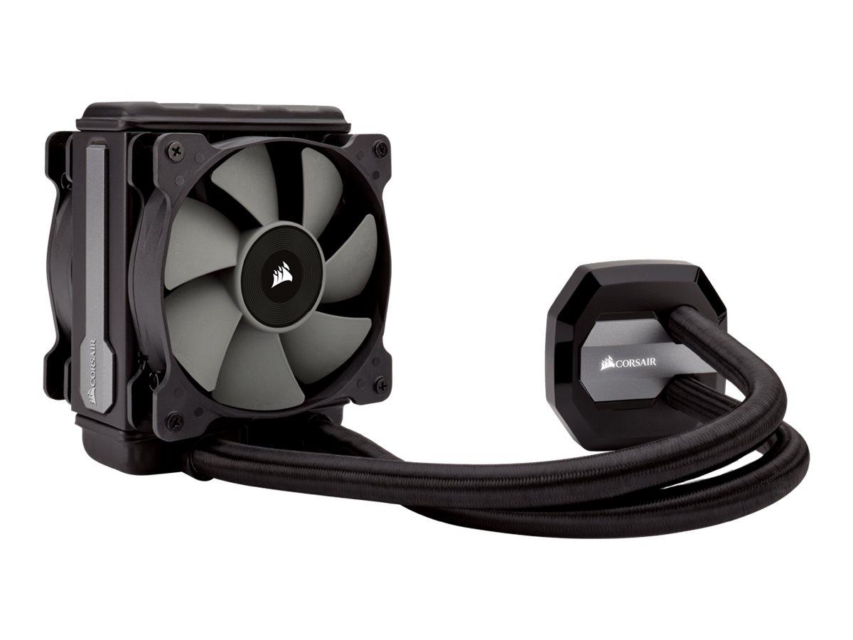 Corsair Hydro Series H80i v2 High Performance Liquid CPU Cooler - Prozessor-Flüssigkeitskühlsystem - (für: LGA1156, AM2, LGA1366, AM3, LGA1155, LGA2011, FM1, FM2, LGA1150, LGA2011-3, LGA1151)