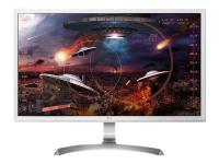 27UD59-W 27Zoll 4K Ultra HD IPS Silber - Weiß Flach Computerbildschirm LED display