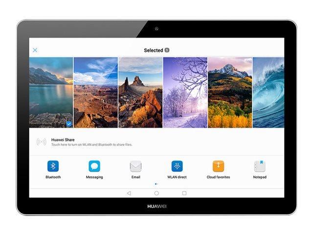 Huawei MediaPad T3 - Tablet - 2 GB RAM - 16 GB - microSD bis zu 128 GB - 24.4 cm (9.6 Zoll) IPS - Grau