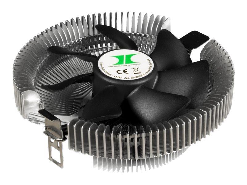 Inter-Tech Q-50 - Retail - Prozessor-Luftkühler - (für: LGA775, LGA1156, LGA1155, LGA1150, LGA1151, LGA1200)