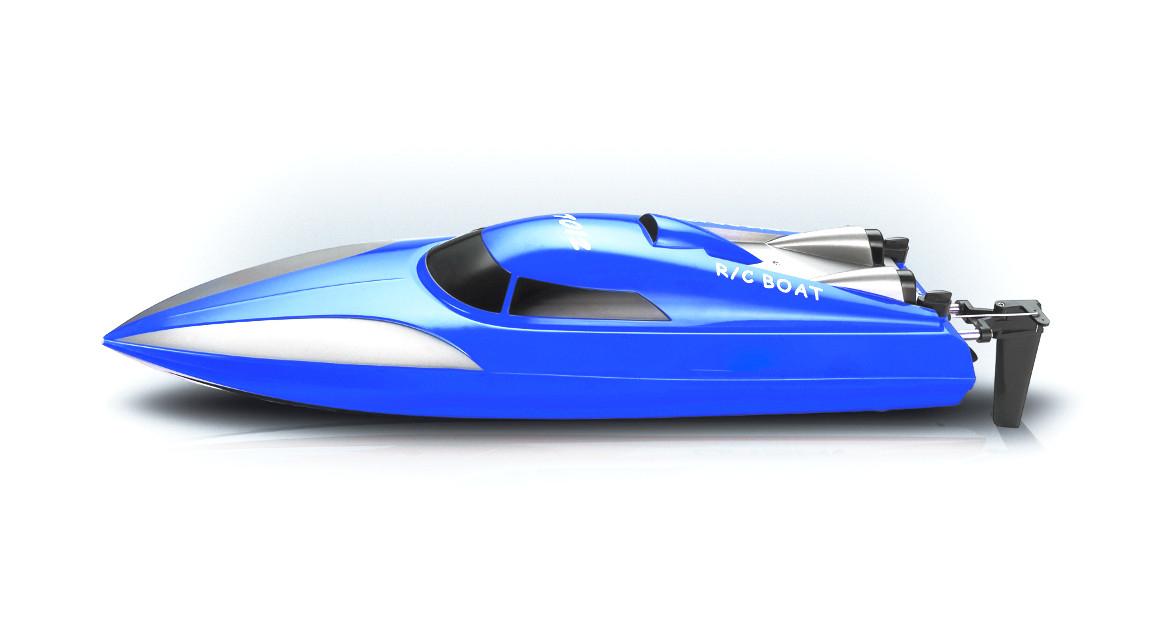 Amewi Speedboot 7012 Mono - Betriebsbereit (RTR) - Blau - Boot - Elektromotor - 2.4 GHz - Lithium-Ion (Li-Ion)