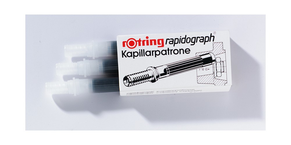 rOtring Capillary cartridges for Rapidograph - Rot - Rotring Rapidograph