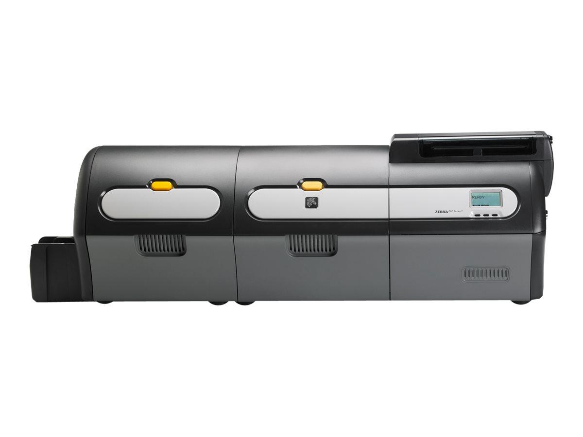 Zebra ZXP Series 7 - Plastikkartendrucker - Farbe - Duplex - Thermosublimation/thermische Übertragung - CR-80 Card (85.6 x 54 mm)