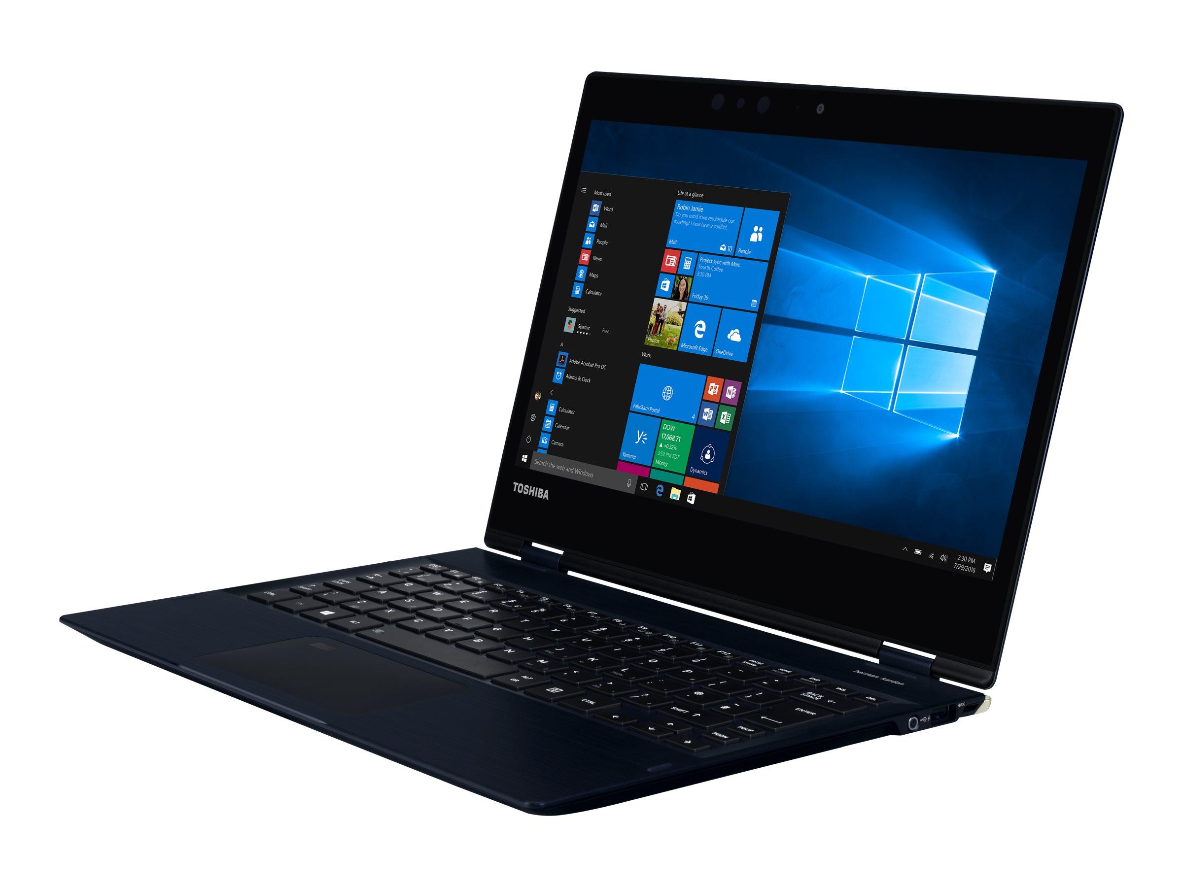 Toshiba Dynabook Toshiba Port?g? X20W-E-15V - Flip-Design - Core i5 7200U / 2.5 GHz - Win 10 Pro 64-Bit - 8 GB RAM - 256