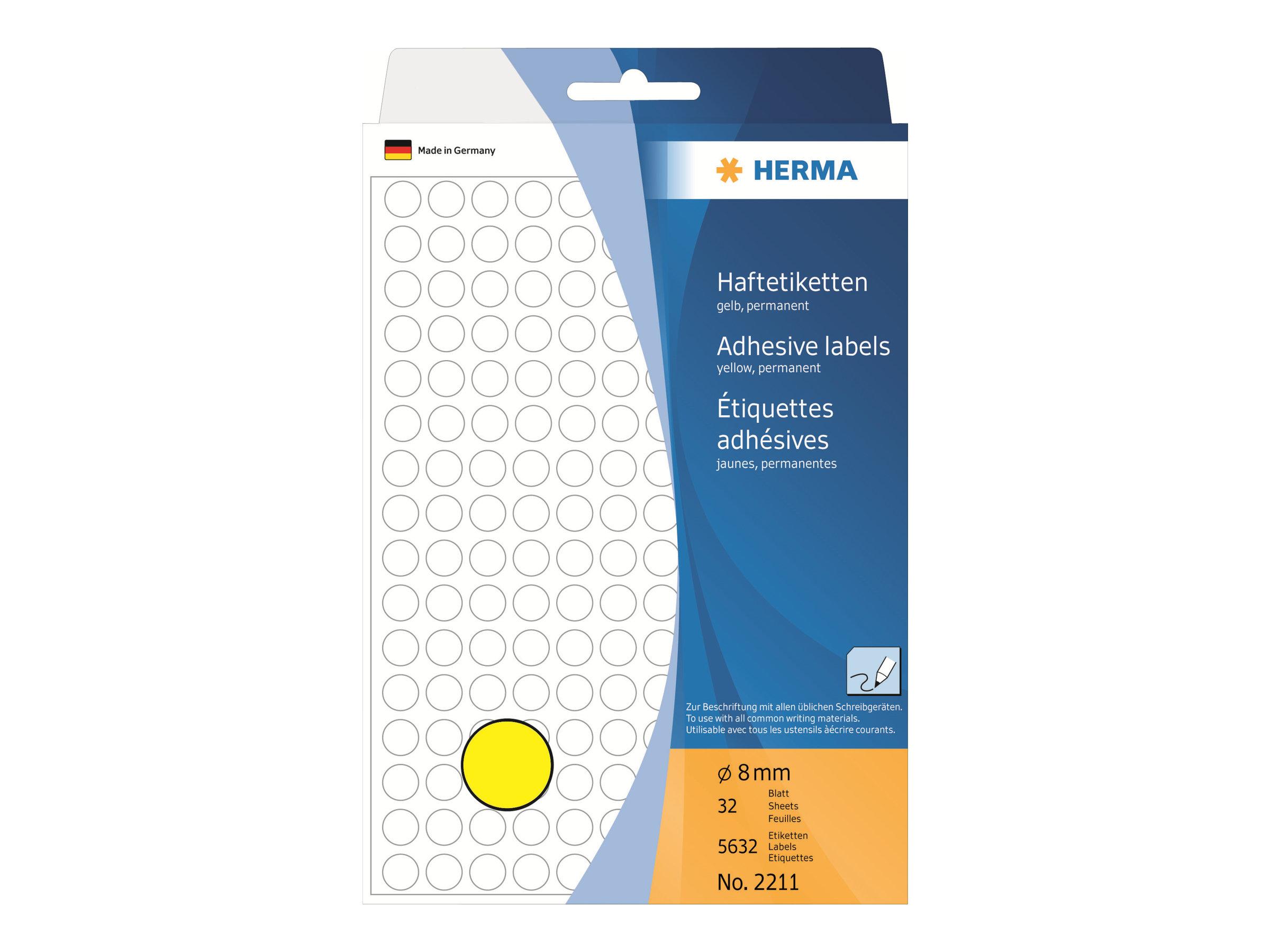 HERMA Papier - permanent selbstklebend
