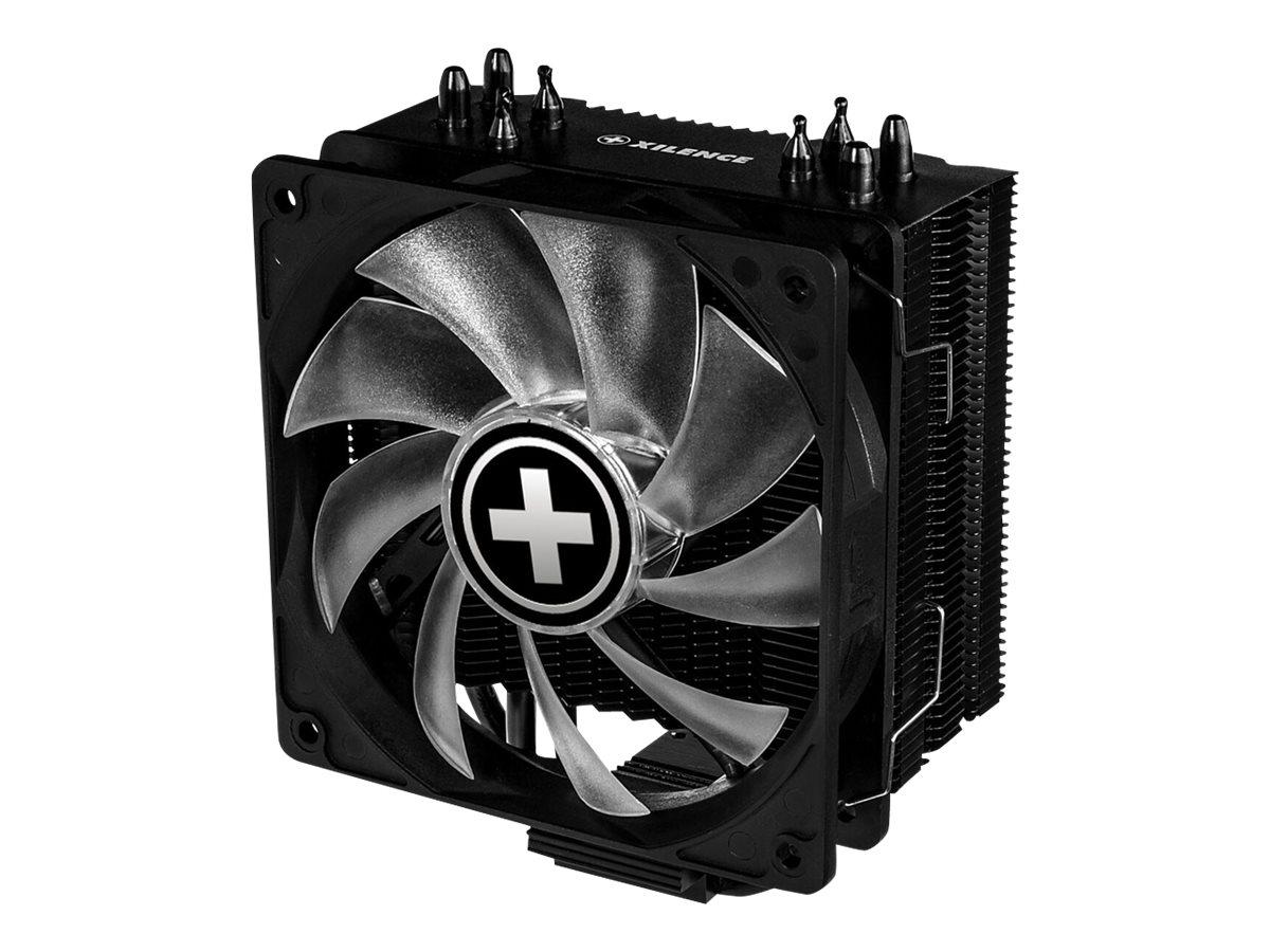 Xilence Performance A+ Series M704RGB - Prozessor-Luftkühler - (für: LGA1156, AM2, AM2+, AM3, LGA1155, AM3+, LGA2011, FM1, FM2, LGA1150, FM2+, LGA1151, LGA2066)