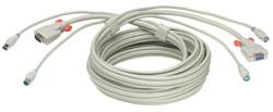 Lindy Monitor/Maus/Tastatur-Kombi-Verlängerung - Kabel