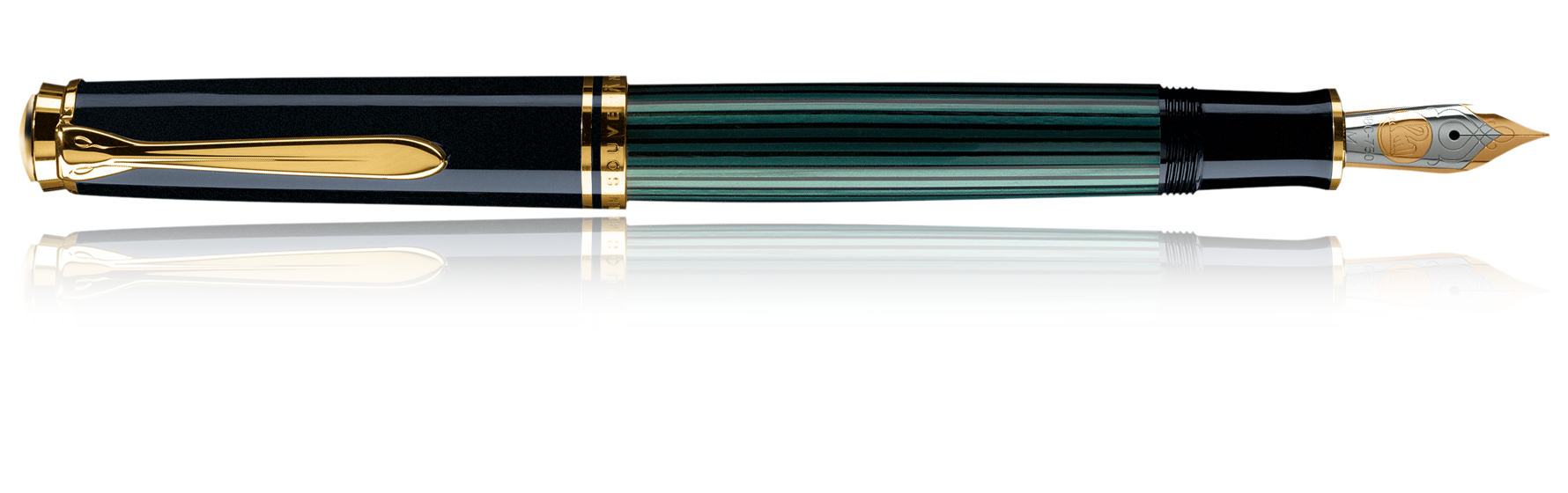 Pelikan Souverän M1000 - Schwarz - Gold - Grün - Blau - Gold - 1 Stück(e)