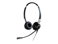 Biz 2400 II QD Duo NC Binaural Kopfband Schwarz - Silber