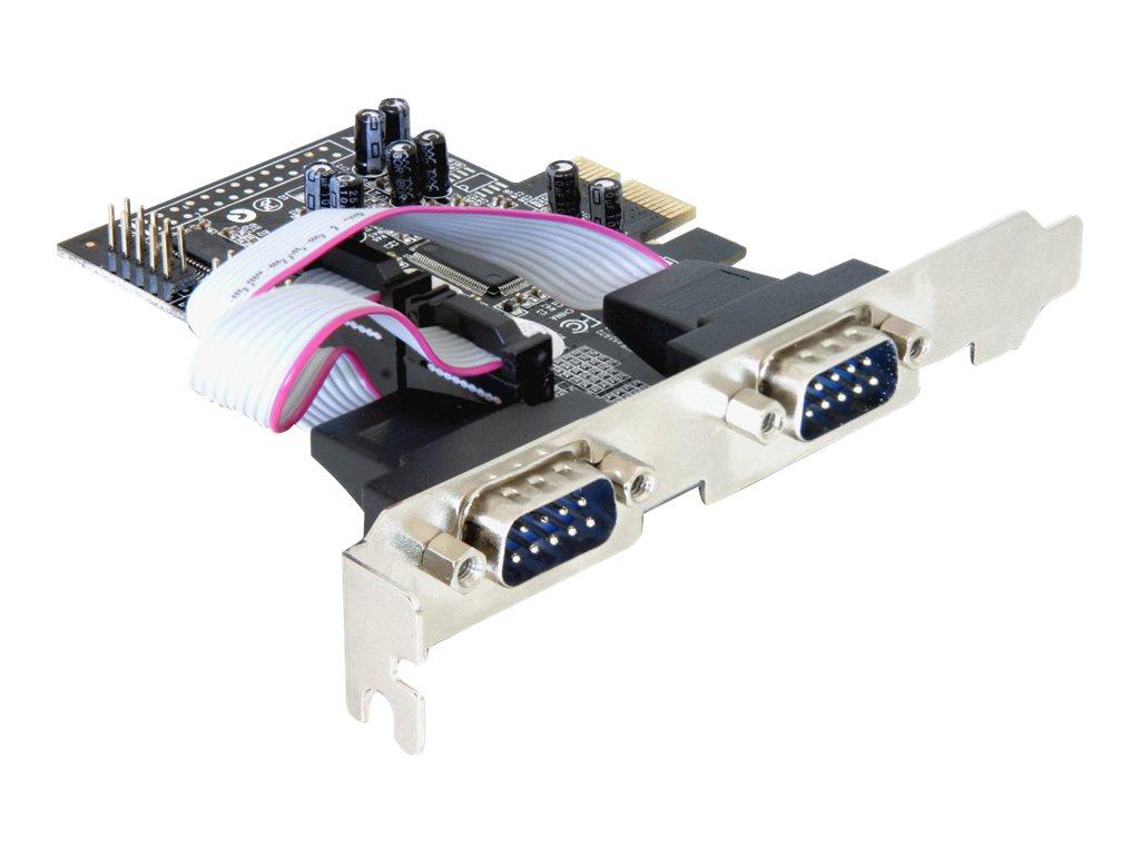 Delock 4 x serial PCI Express Card - Serieller Adapter