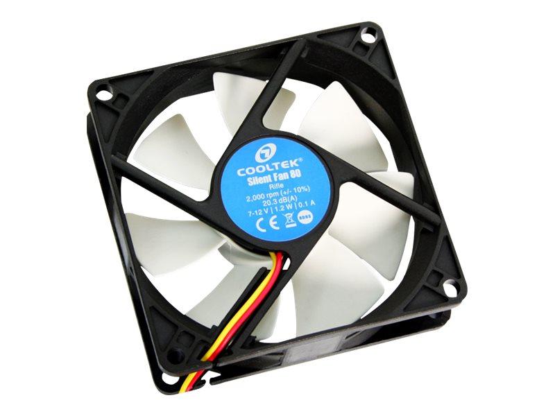 PC-Cooling Cooltek Silent Fan LED Series - Gehäuselüfter