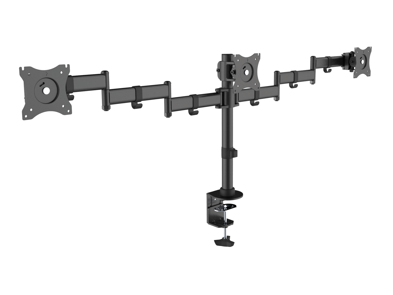equip 650116 - Klemme - 24 kg - 33 cm (13 Zoll) - 68,6 cm (27 Zoll) - 100 x 100 mm - Schwarz