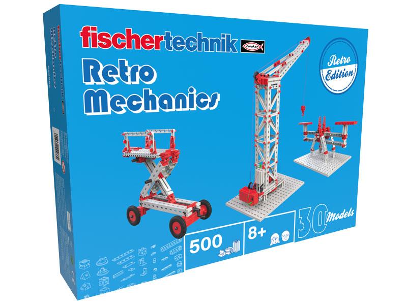 Vorschau: fischertechnik Retro Mechanics - Multibaukasten - Junge