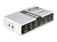Delock USB Sound Box 7.1 - Soundkarte - 7.1