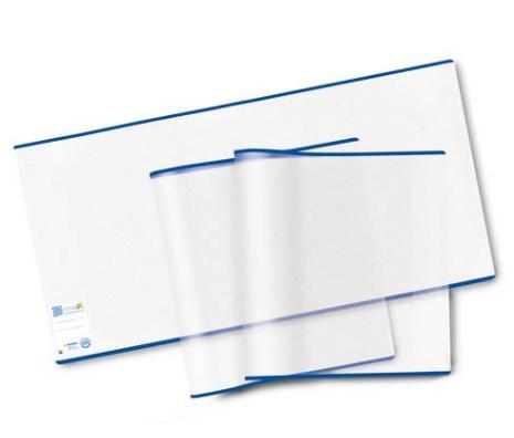 HERMA 20221 - Buchschoner - Transparent - Blau - Polypropylen (PP) - 540 mm - 300 mm - 3 Stück