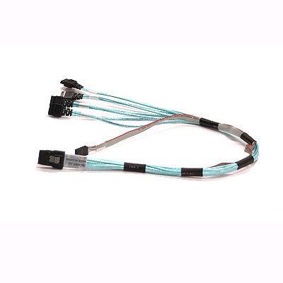 Supermicro CBL-0097L-02 - SATA- / SAS-Kabel - mit Sidebands - 4-Lane - SATA (W)