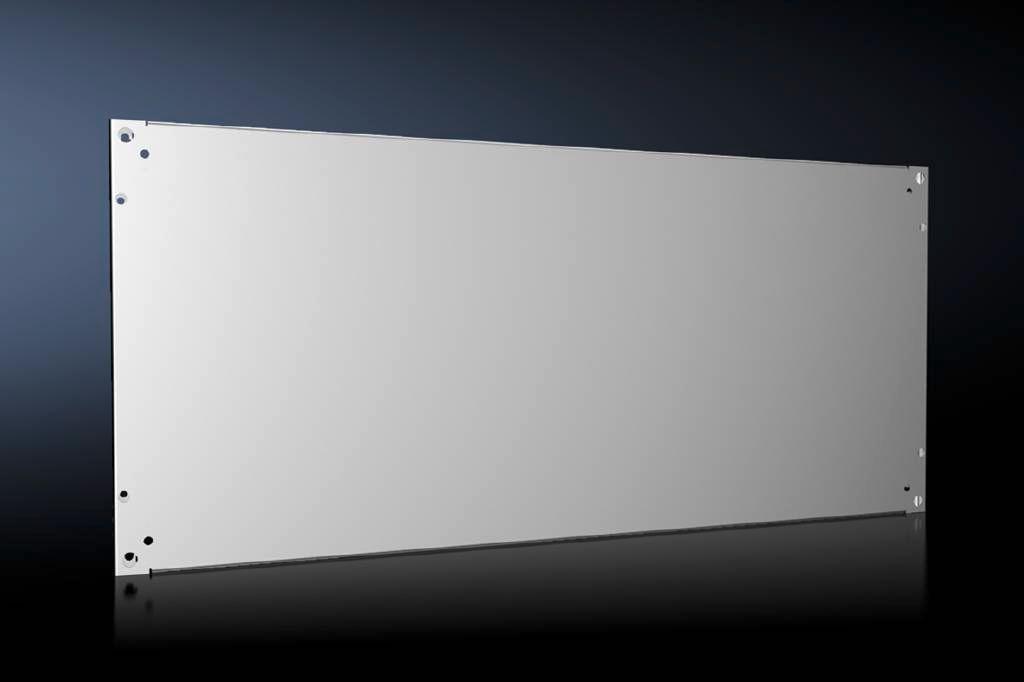 Rittal 8617.640 - Montageplatte - Grau - Galvanisiertes Stahl - 1100 mm - 500 mm - 1 Stück(e)