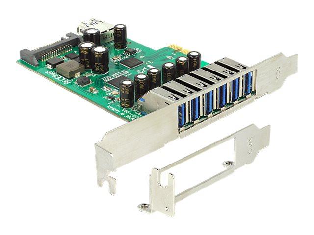 Delock PCI Express Card   6 x extern + 1 x intern USB 3.0
