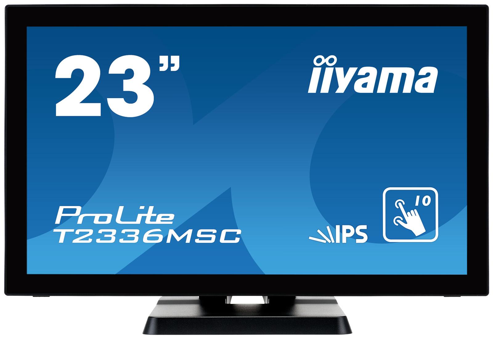Iiyama ProLite T2336MSC-B2 23Zoll 1920 x 1080Pixel Multi-touch Schwarz Touchscreen-Monitor
