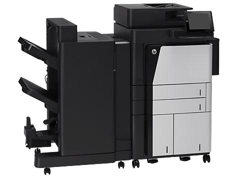 HP LaserJet Enterprise flow M830z NFC/Wireless Direct 1200 x 1200DPI Laser A3 56Seiten pro Minute WLAN Schwarz - Grau Multifunktionsgerät