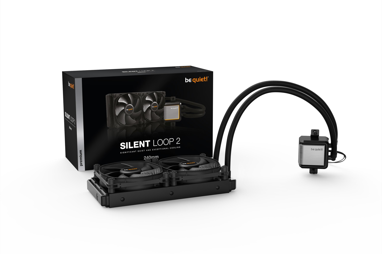 Be Quiet! SILENT LOOP 2 240mm - Prozessor - 16,8 dB - 38,3 dB - Fluid Dynamic Bearing (FDB) - 4-polig - 3-polig