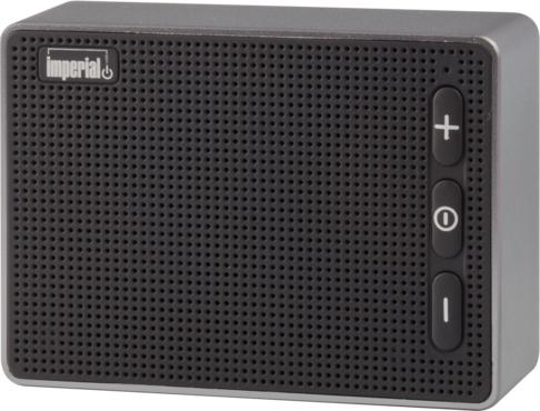 Imperial BAS 2 Mono portable speaker 3W Schwarz - Silber