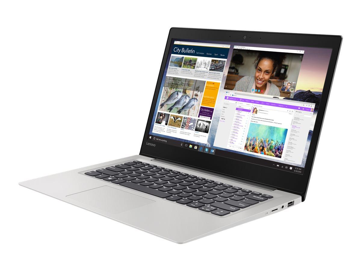 """Lenovo IdeaPad S130-14IGM 81J2 - Celeron N4000 / 1.1 GHz - Win 10 Home in S mode - 4 GB RAM - 64 GB eMMC - 35.5 cm (14"""")"""