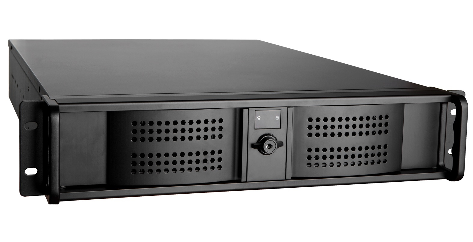 Ultron RPS19-2535 - Rack - Server - Aluminium - Metall - Schwarz - ATX - 2U