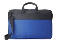 15.6 Duotone Blue BriefCase 15.6Zoll Aktenkoffer Schwarz - Blau