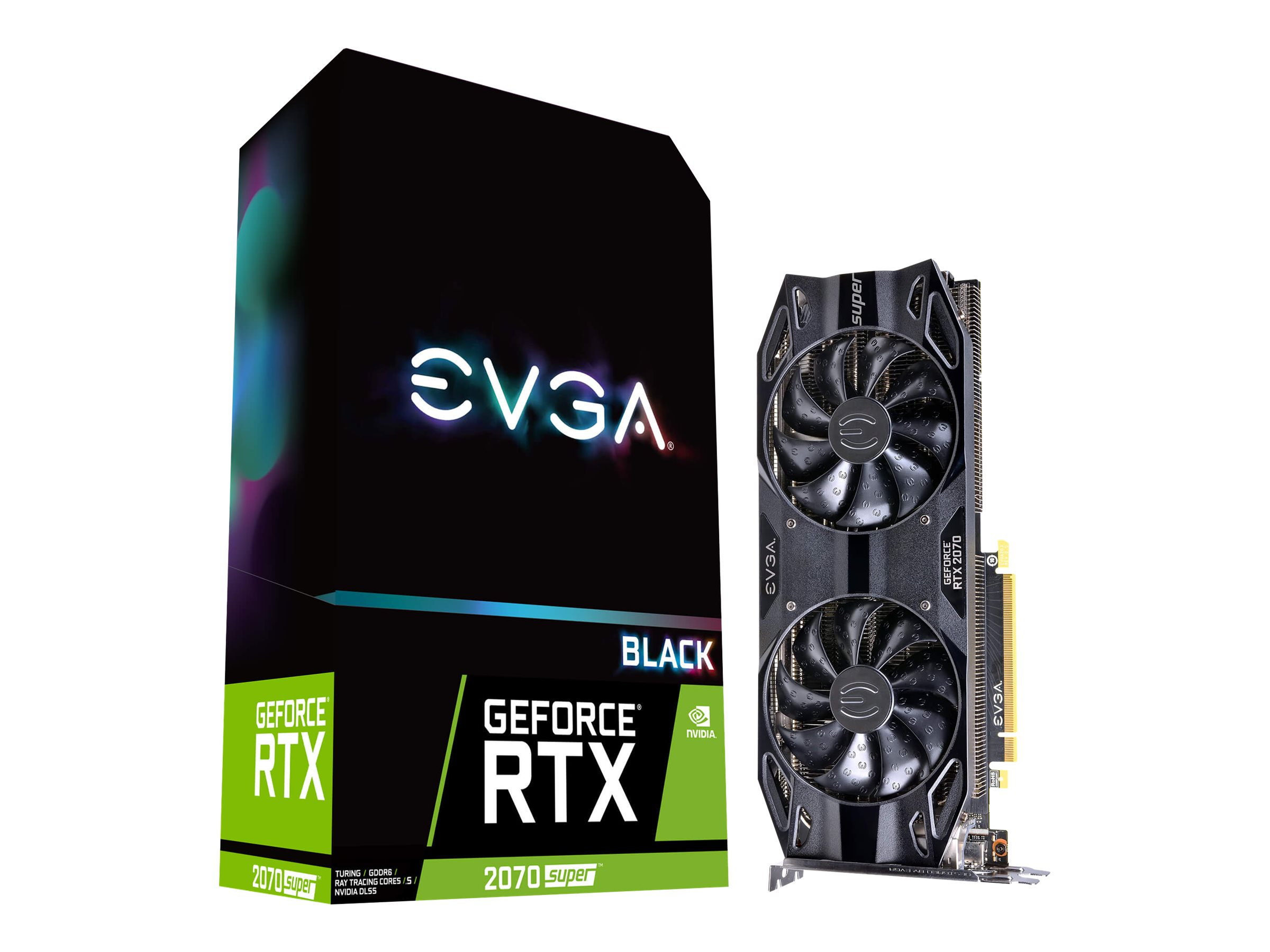EVGA GeForce RTX 2070 SUPER BLACK GAMING - Grafikkarten