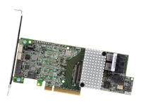 RS3DC080 - SAS,Serial ATA III - PCI Express x8 - Halbe Höhe (Niedriges Profil) - 12 Gbit/s - Low Profile MD2 Card - Seite