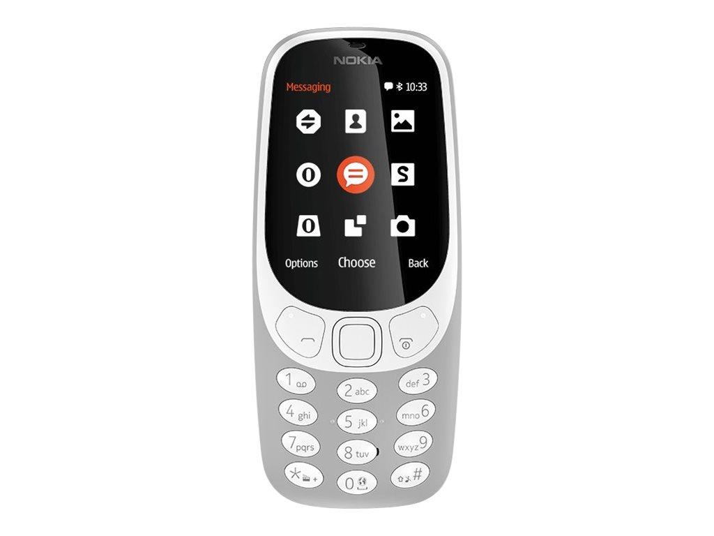 Nokia 3310 Dual SIM 2.4Zoll Grau Funktionstelefon