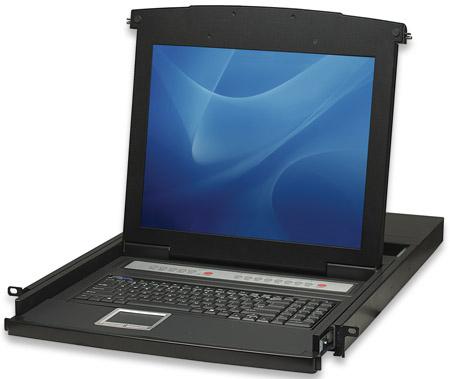 Intellinet 506540 Schwarz Tastatur/Video/Maus (KVM)-Switch