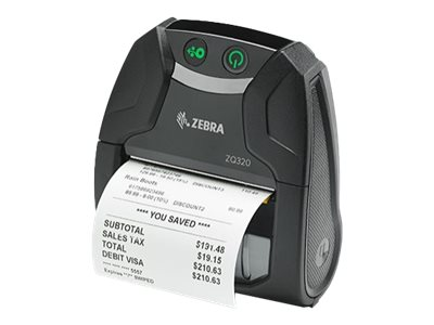 Zebra ZQ300 Series ZQ320 Mobile Receipt Printer