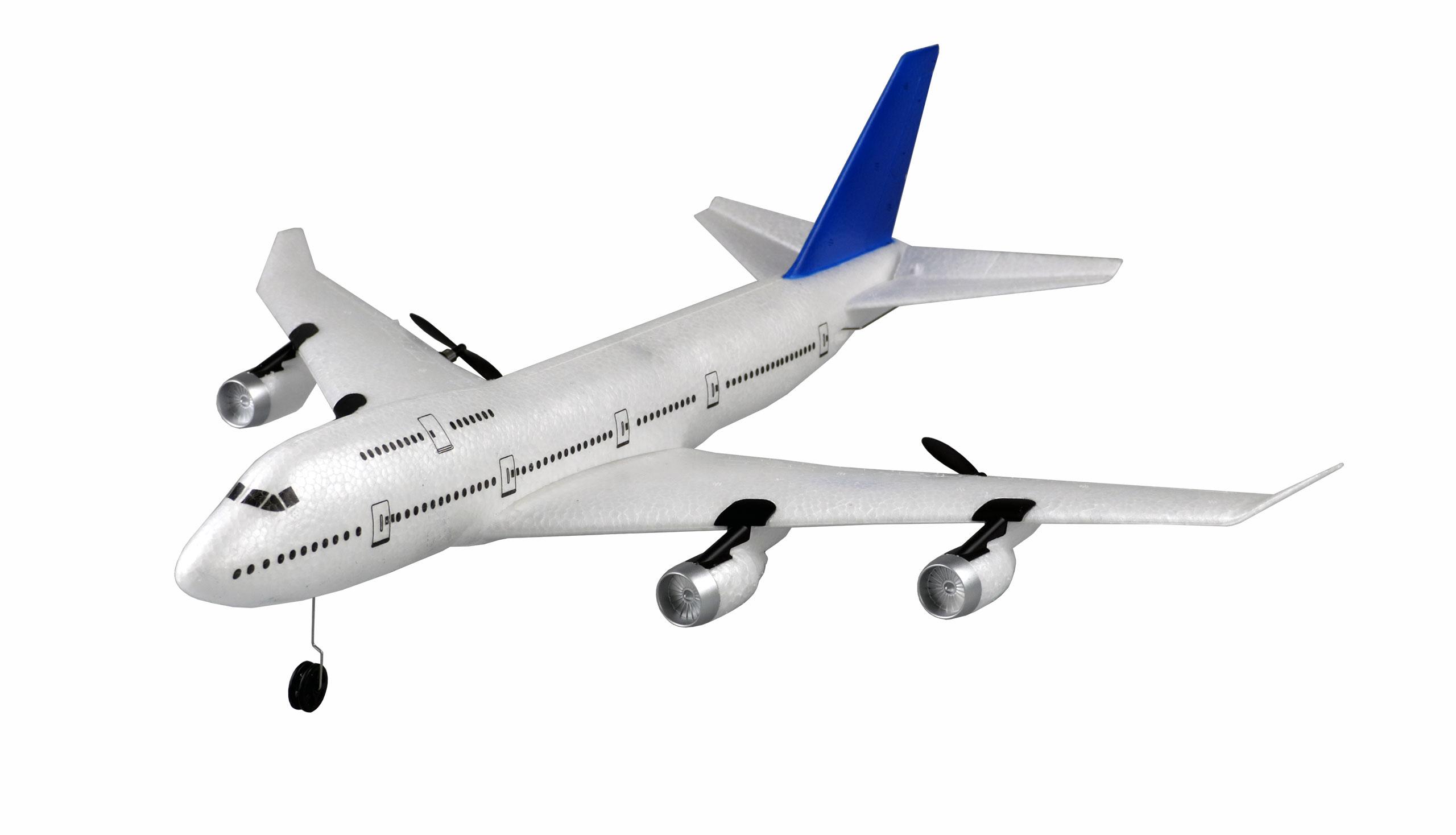 Amewi AMB74 - Funkgesteuertes (RC) Flugzeug - Flugbereit (RTF) - Blau - Weiß - Elektromotor - Junge/Mädchen - 14 Jahr(e)